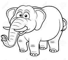 تعليم الرسم للاطفال المبتدئين رسومات اطفال للتلوين حيوانات برية Elephant Coloring Page Cartoon Elephant Lion Coloring Pages