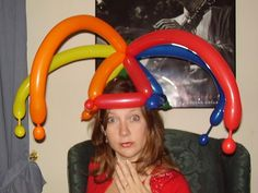 great balloon hats - Google Search