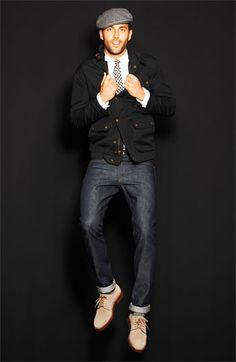 A.P.C. 'New Standard' Selvedge Slim Straight Leg Jeans (Indigo) | Nordstrom