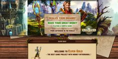 ELVEN GOLD GAME:    Make money while playing !!! Every day bonus !!...
