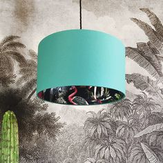 Buy Silhouette Cotton Lampshade - Midnight Chimiracle in Jade Green from our Pendant Lights range at Red Candy, home of quirky decor. FREE DELIVERY over Animal Collective, Quirky Decor, Free Fabric Samples, Energy Saver, Red Candy, Ceiling Rose, Deep Space, Of Wallpaper, Wallpaper Ideas