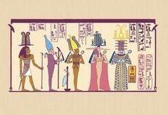 Asar or Osiris 28x42 Giclee on Canvas