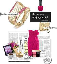 """""""Be curious, not judgemental"""" by costisjewelry on Polyvore"""