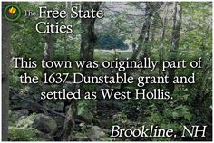 There's more about Brookline at our site! http://freestatenh.org/encyclopedia/cities/brookline