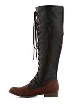 Chocolate Craving Boot, #ModCloth