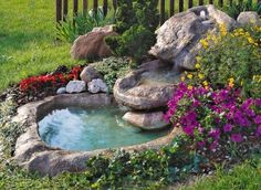 In this article, I will try to help you and to give you some inspiration about backyard water pond. I will present you some backyard pond that looks