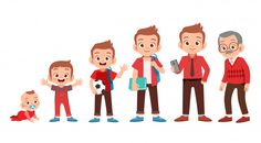 Find Man Grow Life Cycle Vector stock images in HD and millions of other royalty-free stock photos, illustrations and vectors in the Shutterstock collection. Office Cartoon, Cartoon Tv, Cartoon Characters, Watercolor Wallpaper, Art Drawings For Kids, Dibujos Cute, School Decorations, Life Cycles, Caricature