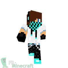 Minecraft : Skin Minecraft : Skater boy (bleu)
