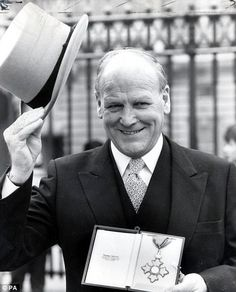 Former West Ham and England manager Ron Greenwood.