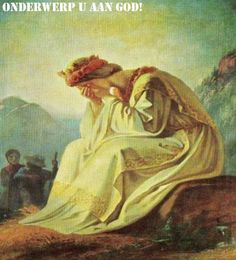 """MARIA MOEDER VAN TRANEN      ( 20 februari )    """"Bij Haar verschijning in La Salette (19/9/1846) weende Maria  bittere tranen ..."""