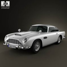 Aston Martin DB5 1963 3d model from humster3d.com. Price: $75