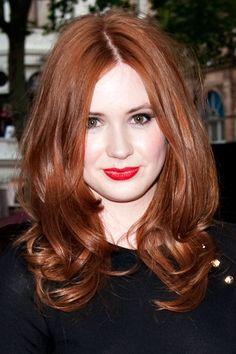 Karen Gillan's just lovely hair