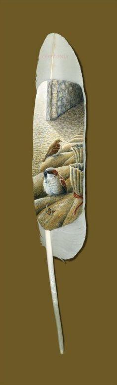 没有比天鹅羽毛更美好的画布了(Ian Davie)_CrashZeng