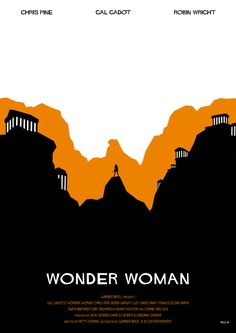 Wonder Woman - Fan Art Poster  Created by Rico Jr Creation