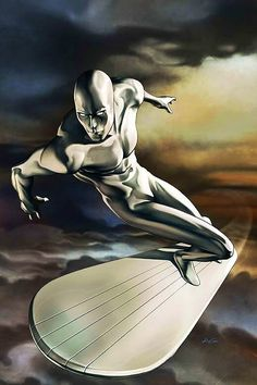 Marvel Comic Book Artwork • Silver Surfer. Follow us for more awesome comic art, or check out our online store www.7ate9comics.com