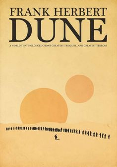 reimagined book cover: dune