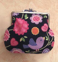 Clasp purse