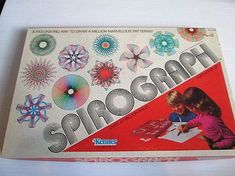 "Oh the joy and predictability I felt with the Spirograph. Well, as long as I had a Pencil sharpener. -"" Vintage 1978 Spirograph Toy Kenner Vintage Retro Toys With Extras"" 1970s Childhood, My Childhood Memories, Childhood Toys, Vintage Tupperware, Vintage Fisher Price, Cabbage Patch Kids, Polly Pocket, Love Vintage, Retro Vintage"