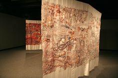 Anna Torma   Baie Verte, New Brunswick, Canada   Weekly Artist Fibre Interviews   Fibre Art   International   Canadian   World of Threads Festival   Contemporary Fiber Art Craft Textiles   Oakville Ontario Canada ****