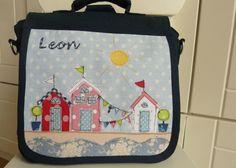 """Kindergartentaschen - Kindergartenrucksack """"An der See"""" - ein Designerstück von…"""