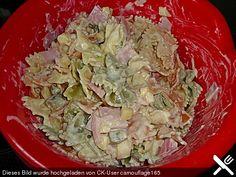 Nudelsalat mit Joghurt
