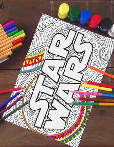 Star Wars Coloring Pages Logo Printable