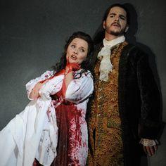 Wonderful soprano Emma Matthews in Donizetti's Lucia di Lammermoor with @Opera Australia    #opera #classical #singing #Donizetti