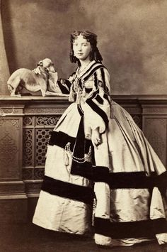 Photographie A.A.E. Disdéri. Vers 1860.