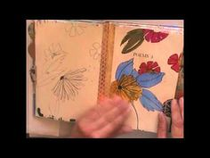 Video > Journal flip through with Cathy Bluteau