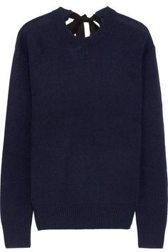 JOSEPH Tie-Back Cashmere Sweater. #joseph #cloth #knitwear