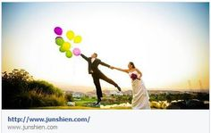 junshien wedding photo balloons