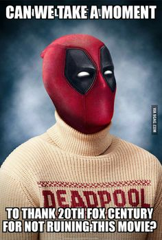 Take a moment for Deadpool