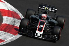 Kevin Magnussen of Denmark driving the Haas Team HaasFerrari Ferrari on track during practice for the Formula One Grand Prix of Mexico at. Haas F1 Team, Formula One, Grand Prix, Denmark, Ferrari, Mexico, Track, Modern, Trendy Tree