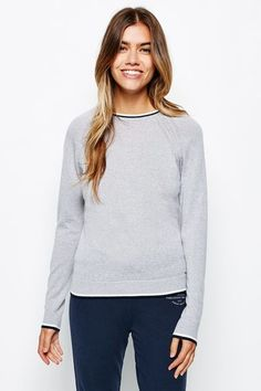 Buy the Labrie Slim Fit Merino Crew from Jack Wills. British Style, Slim, Mens Fashion, Pullover, Hoodies, Lady, Fitness, Casual, Sweaters