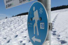 Winterwanderwege im Schwarzwald