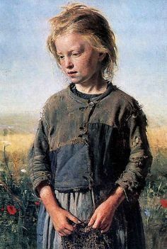 """Silence in the face of evil is itself evil: God will not hold us guiltless. Not to speak is to speak. Not to act is to act."" ~ Dietrich Bonhoeffer [Ilya Repin, Fisher Girl, 1874]"