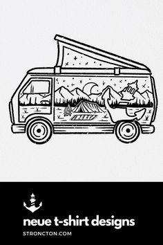Weiter geht's mit den neuen Designs für die neuen T-Shirts. Wir können uns gerade nicht entscheiden Welche Variante findet ihr besser? A: Für mehr Farbe im Spiel oder B: Classic - schwarze Outlines. Mehr Designs und die aktuelle Kollektion, Inspirationen und Outfit Ideen für Styles und Accessoires findest du bei Stroncton im Online Shop. #design #tshirt #tshirtdesign #nachhaltig #fair #fairfashion #menswear T Shirt Designs, Pop Up Shop, Art Sketchbook, Van Life, Wanderlust, Heart, Shirts, Travel, Collection