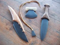 STONE KNIVES in Miscellaneous Primitive Weapons Forum