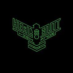 HEAD BUTT - thai rock band logo
