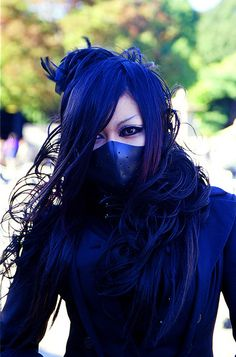 #harajuku #blue