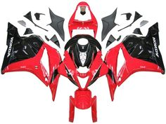 Awesome Honda 2017: Fairings Honda CBR 600 RR Red & Black Honda CBR Racing (2009-2012)  Motorcycle Parts - Free Shipping