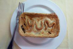 Monogrammed pot pies!
