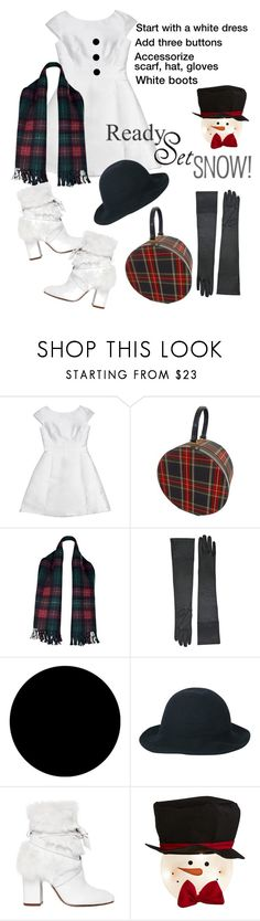 """""""Build a snowman"""" by ifancyu ❤ liked on Polyvore featuring Kate Spade, Hermès, Wall Pops!, Alexandre Birman, dressup, snowman and snowwoman"""
