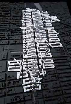 Meta-Code: Un-Grounded City, by Matthew Conway, Wesley Ho, Emily Russell, Cory Seeger, architectural model