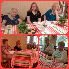On Sunday, May 14th, mothers of all ages gathered at Juniper Village at Forest Hills for an old fashioned Mother's Day Tea Social. Atte...