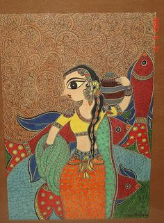 Rang-Decor {Interior Ideas predominantly Indian}: Art & Crafts of India #5: Madhubani Paintings