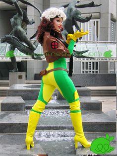 Rogue back costume