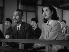 小津安二郎監督「晩春」1949年/笠智衆、原節子