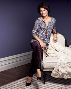 Magali - She's fun, fearless, and lives for prints. #chicos