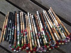 Bobbins for Ceres Lace Day